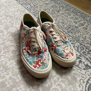 SeaVees for J. Crew Floral Shoes